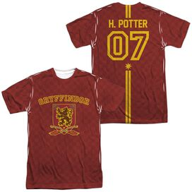 Harry Potter Potter Sweater (Front Back Print) Short Sleeve Adult Poly Crew T-Shirt