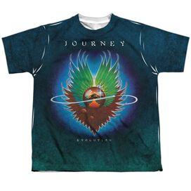 Journey Evolution Sub Short Sleeve Youth Poly Crew T-Shirt