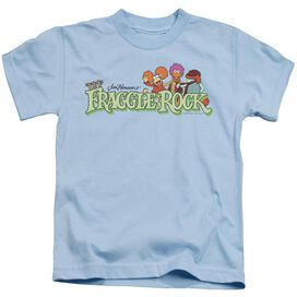 Fraggle Rock Leaf Logo Short Sleeve Juvenile Light T-Shirt