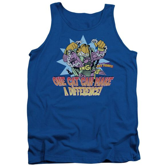 Garfield Make A Difference Adult Tank Royal