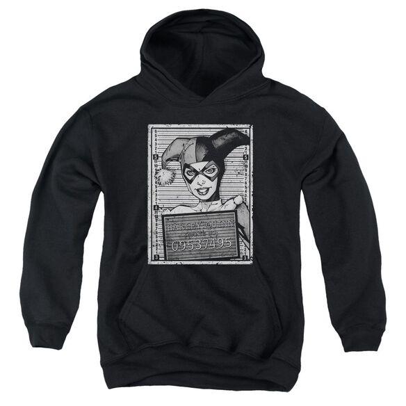 Batman Harley Inmate Youth Pull Over Hoodie