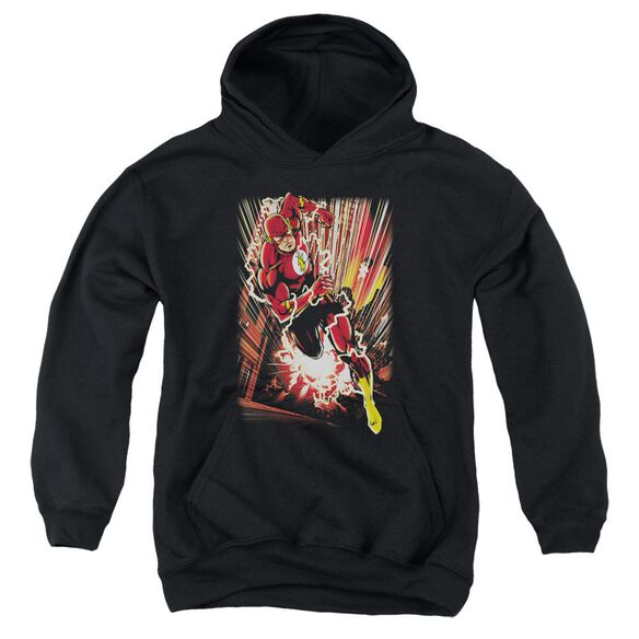 Jla Street Speed Youth Pull Over Hoodie