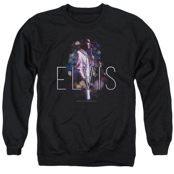 Elvis Presley Dream State - Adult Crewneck Sweatshirt - Black