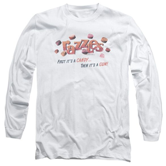 Dubble Bubble A Gum And A Candy Long Sleeve Adult T-Shirt