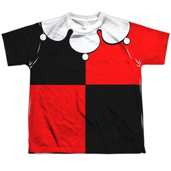 Bataman Quinn Costume Short Sleeve Youth Poly Crew T-Shirt
