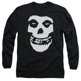 Misfits Fiend Skull Long Sleeve Adult T-Shirt