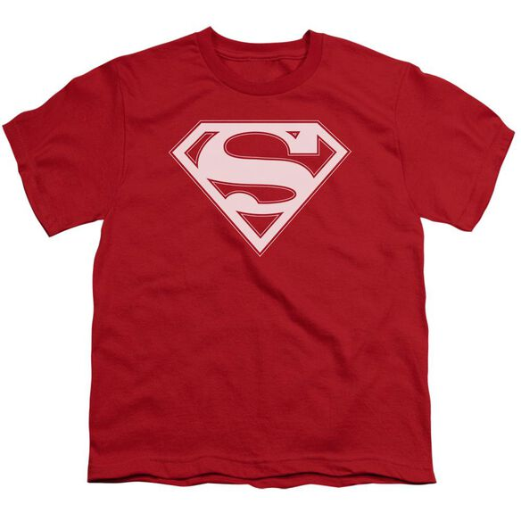 Superman & White Shield Short Sleeve Youth T-Shirt