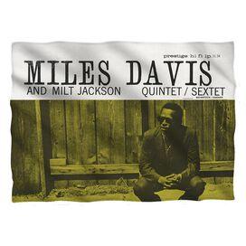 Miles Davis Miles And Milt Pillow Case