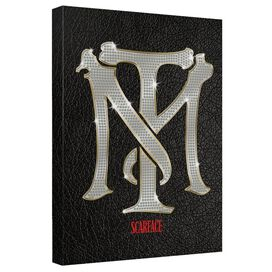 Scarface Monogram Canvas Wall Art With Back Board