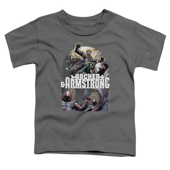 Archer & Armstrong Dropping In Short Sleeve Toddler Tee Charcoal T-Shirt