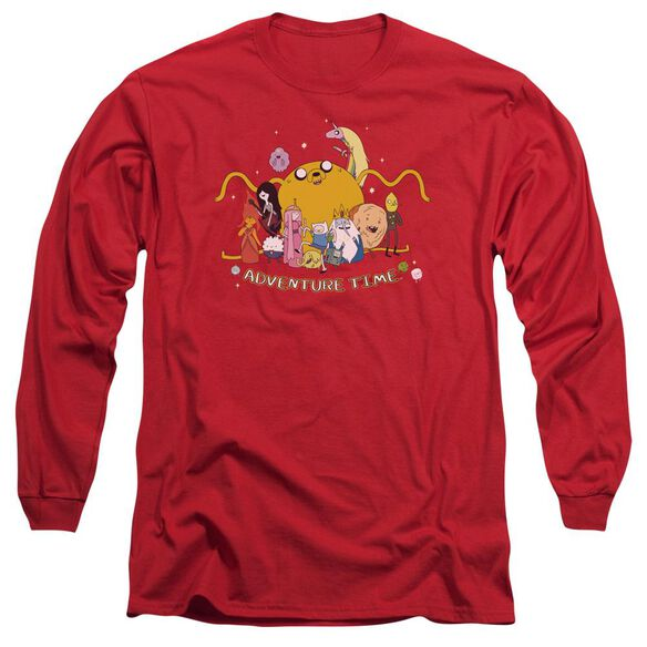 Adventure Time Outstretched Long Sleeve Adult T-Shirt
