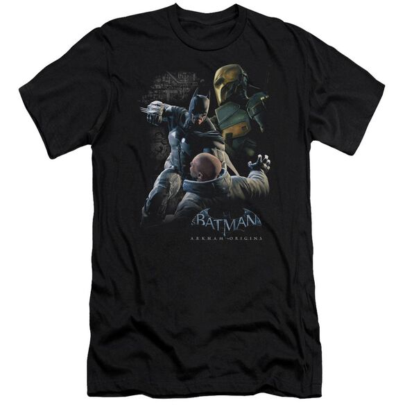 Batman Arkham Origins Punch Short Sleeve Adult T-Shirt