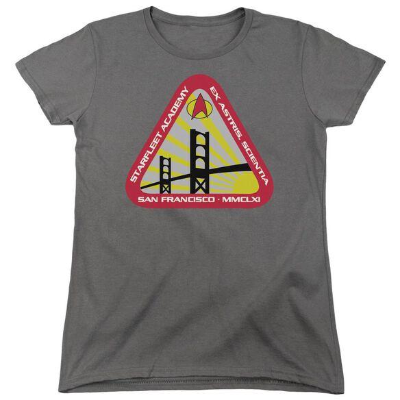 Star Trek Starfleet Academy Short Sleeve Womens Tee T-Shirt