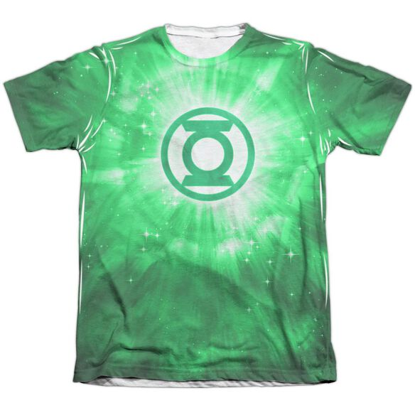 Green Lantern Green Energy Adult 65 35 Poly Cotton Short Sleeve Tee T-Shirt