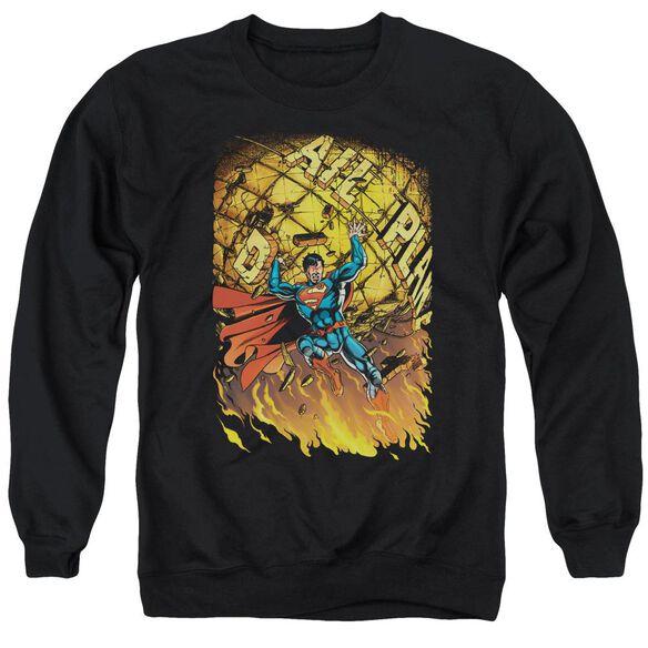 Superman Superman #1 Adult Crewneck Sweatshirt