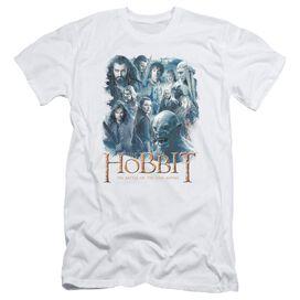 Hobbit Main Characters Short Sleeve Adult T-Shirt
