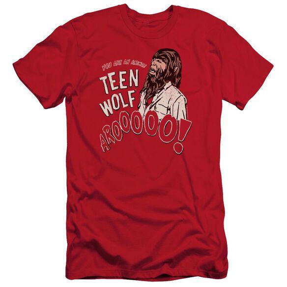 Teen Wolf Animal Short Sleeve Adult T-Shirt