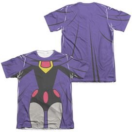 Teen Titans Go Raven Uniform (Front Back Print) Adult Poly Cotton Short Sleeve Tee T-Shirt