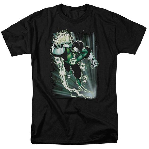 Jla Emerald Energy Short Sleeve Adult T-Shirt