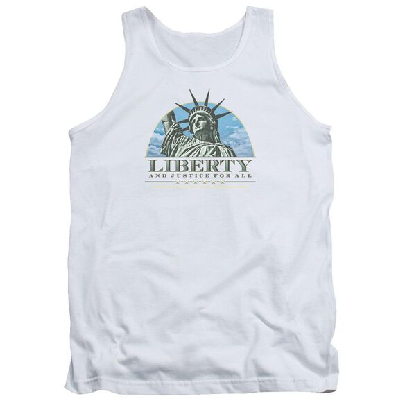 Liberty And Justice Adult Tank