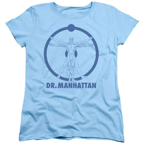 Watchmen Dr Manhattan Short Sleeve Women's Tee Light T-Shirt