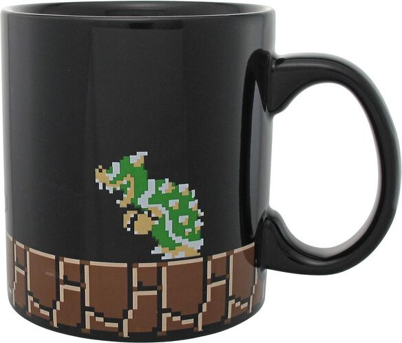 Super Mario Maker Heat Changing Flames Jumbo Mug
