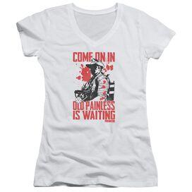 Predator Painless Junior V Neck T-Shirt