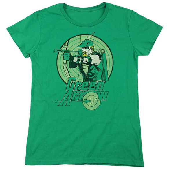 Dc Arrow Short Sleeve Womens Tee Kelly T-Shirt
