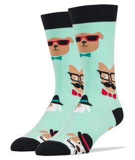 Dapper Dogs Men's Crew Socks [1 pair]