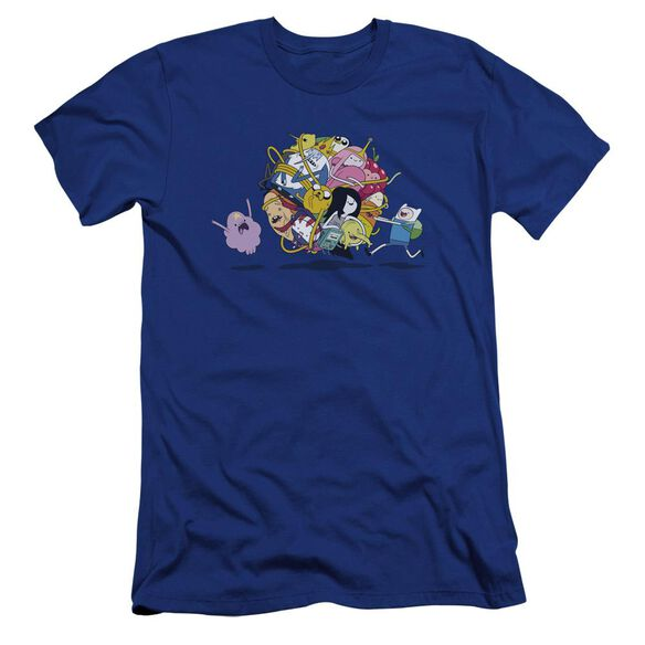 Adventure Time Glob Ball Hbo Short Sleeve Adult Royal T-Shirt