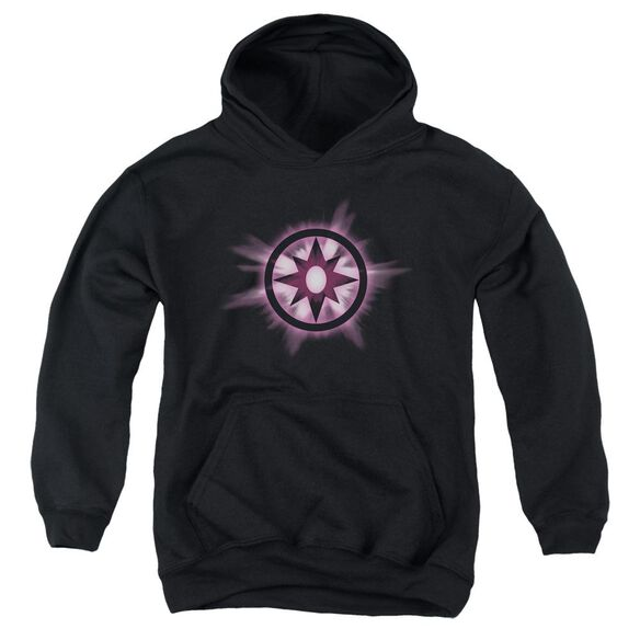 Green Lantern Sapphire Glow Youth Pull Over Hoodie