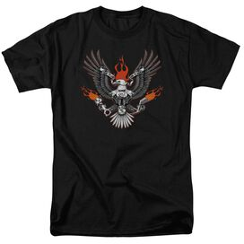 Biker Eagle Short Sleeve Adult T-Shirt