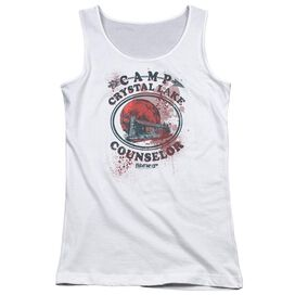 Friday The 13 Th Camp Counselor Victim Juniors Tank Top