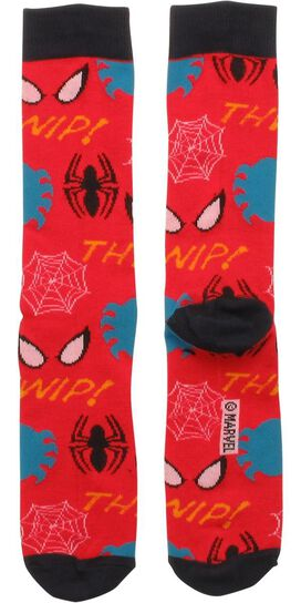 Spiderman Collage Crew Socks