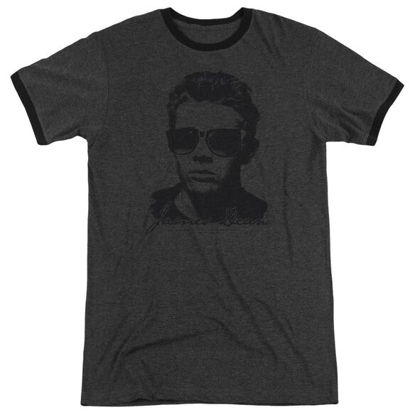 Dean Shades Adult Heather Ringer Charcoal