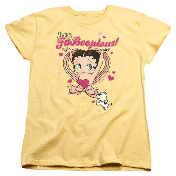 Betty Boop Fabooplous! Short Sleeve Womens Tee T-Shirt