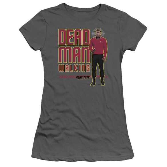 Star Trek Dead Man Walking Short Sleeve Junior Sheer T-Shirt