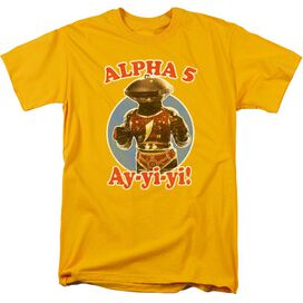 Power Rangers Alpha 5 Short Sleeve Adult T-Shirt