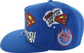 Superman Comic References Snapback Hat