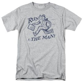 The Man Short Sleeve Adult Athletic T-Shirt