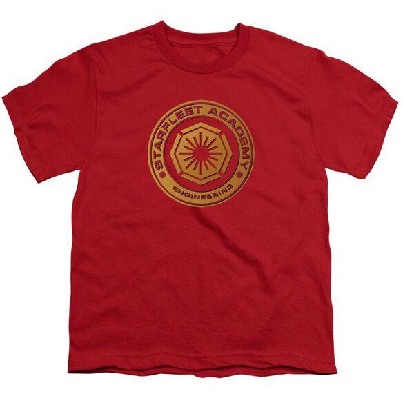 Star Trek Engineering Short Sleeve Youth T-Shirt