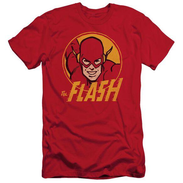Dc Flash Flash Circle Short Sleeve Adult T-Shirt