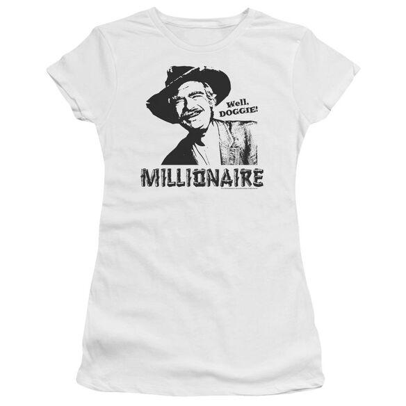 BEVERLY HILLBILLIES MILLIONAIRE - S/S JUNIOR SHEER - WHITE T-Shirt