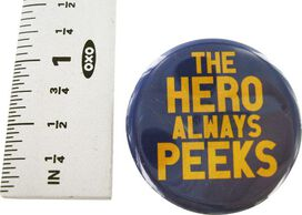 Big Bang Theory Hero Peeks Button