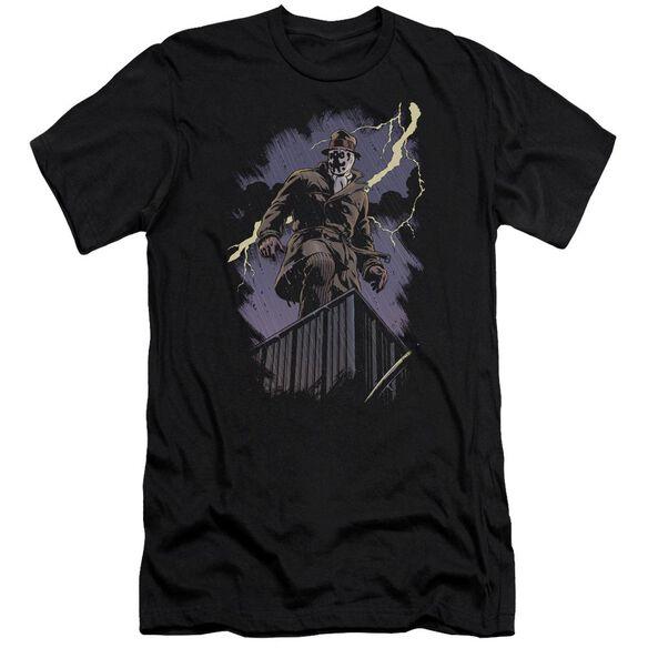 Watchmen Rorschach Night Premuim Canvas Adult Slim Fit