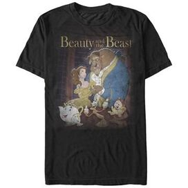 Beauty and the Beast Poster T-Shirt