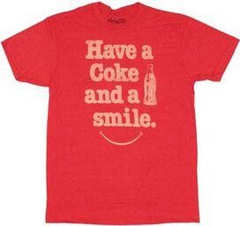 Coca-Cola Smile T-Shirt Sheer