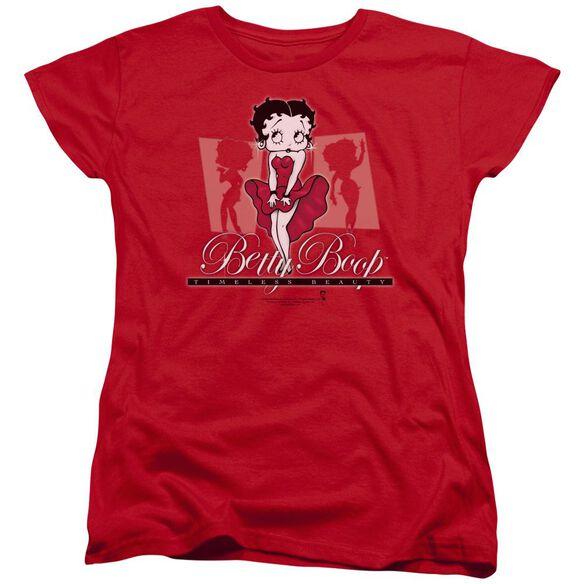 Betty Boop Timeless Beauty Short Sleeve Womens Tee T-Shirt