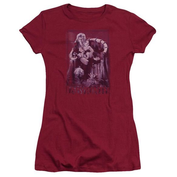 Labyrinth Goblin Baby Short Sleeve Junior Sheer T-Shirt