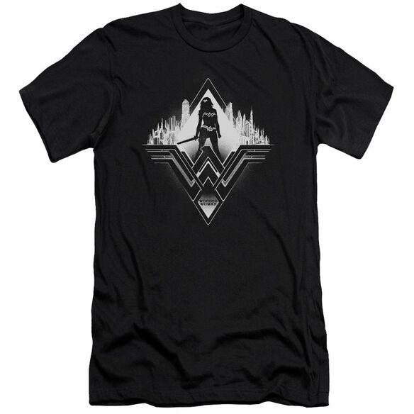 Batman V Superman City Warrior Short Sleeve Adult T-Shirt